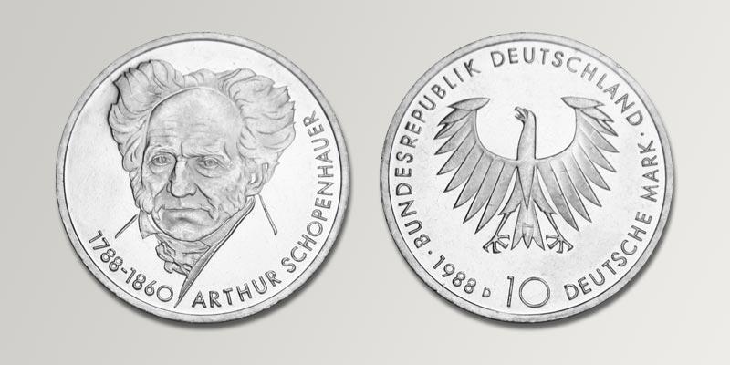 10 Dm Gedenkmünzen Deutschland Brd Deutsche Mark