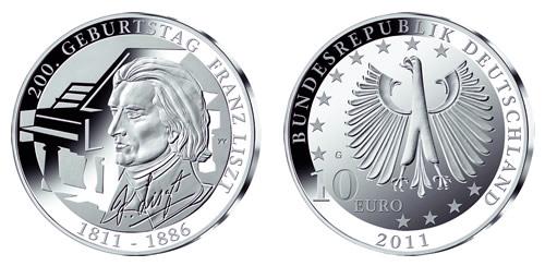 10 Euro Gedenkmünzen Deutschland