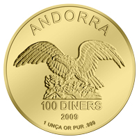 Andorra Eagle in Gold