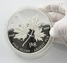 1 kg Maple Leaf 2011 in PP