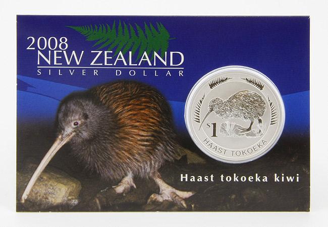 Silberm 252 Nze Kiwi Aus Neuseeland