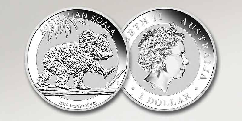 Koala Silberm 252 Nze Australien