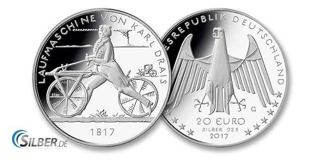 20 Euro Silber Gedenkmünzen
