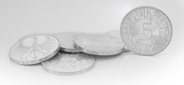 Silberadler Die 5 Dm Umlaufmünzen Von 1951 1974