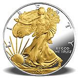 American Eagle Silbermünze