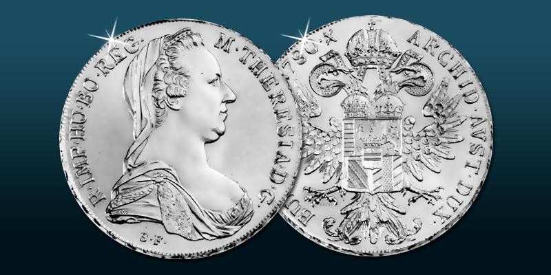 Maria Theresien Taler Silbermünze österreich