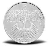 5 Dm Gedenkmünzen Aus Deutschland Deutsche Mark